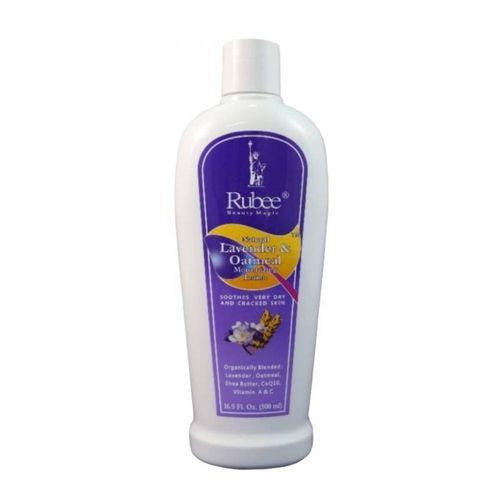 Rubee Natural Lavender & Oatmeal Moisturizing Lotion - 500ml