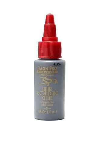 Salon Pro Exclusive Anti-fungus Hair Bonding Glue - Black - 1oz