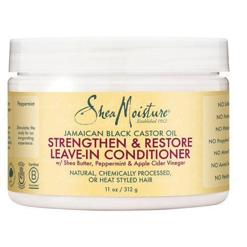 Shea Moisture Jamaican Black Castor Oil Strengthen, Grow & Restore Leave-In Conditioner - 11oz