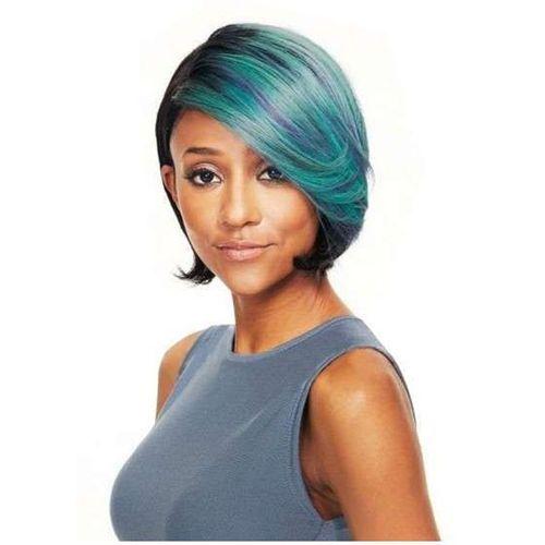 Sleek Bree Wig 100% Human Hair - Jet Black