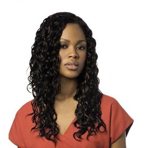 "Sleek Crazy 4 Curls 100% Human Hair Italian Weave - Jet Black,8"""
