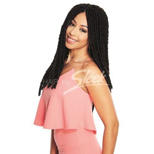 Sleek Synthetic Fashion Idol Jamaica Dredlock - Natural Black,22