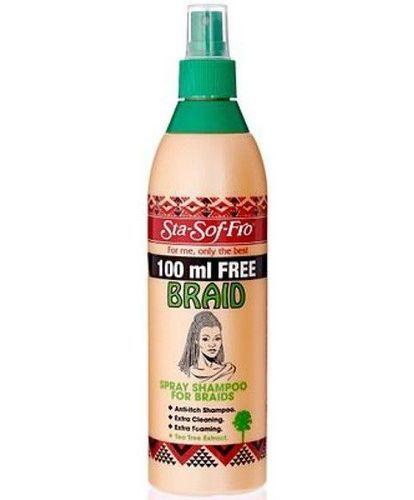 Sta-Sof-Fro Braid Spray Shampoo - 350ml