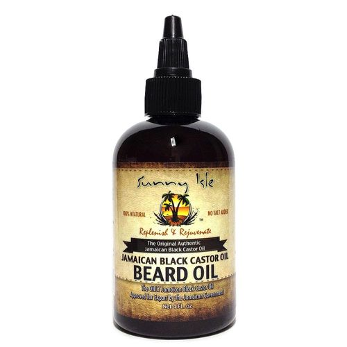 Sunny Isle Jamaican Black Castor Oil Beard Oil - 4oz