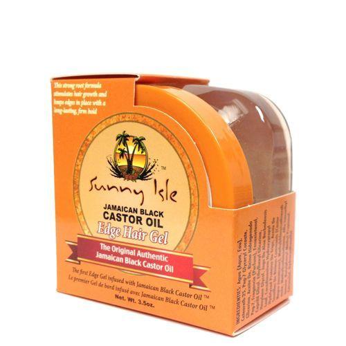 Sunny Isle Jamaican Black Castor Oil Edge Hair Gel - 3.5oz
