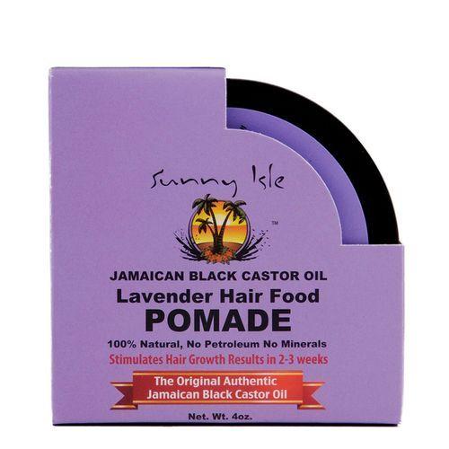 Sunny Isle Jamaican Black Castor Oil Lavender Hair Food Pomade - 4oz
