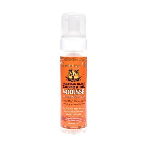 Sunny Isle Jamaican Black Castor Oil Mousse Wrap,set,twist - 7oz