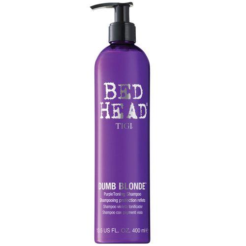 TIGI Bed Head Dumb Blonde Purple Toning Shampoo - 400ml