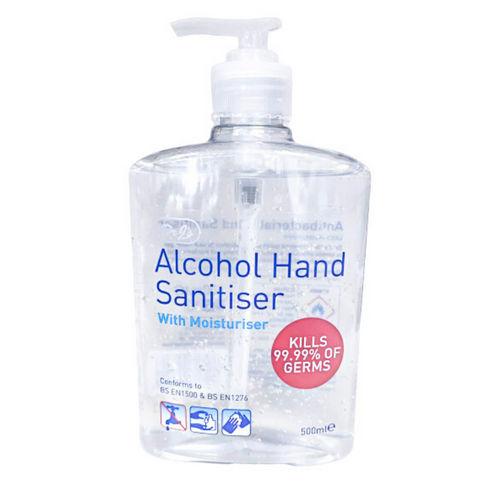 Hand Sanitizer Alcohol With Moisturiser - 500ml