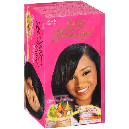 Soft & Beautiful No-Lye Ultimate Conditioning Relaxer - Super