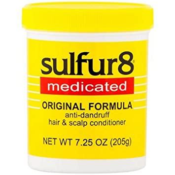 Sulfur8 Medicated Hair & Scalp Conditioner Jar - 7.5oz
