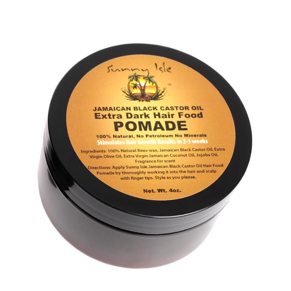 Sunny Isle Jamaican Black Castor Oil Extra Dark Hair Food Pomade - 4oz
