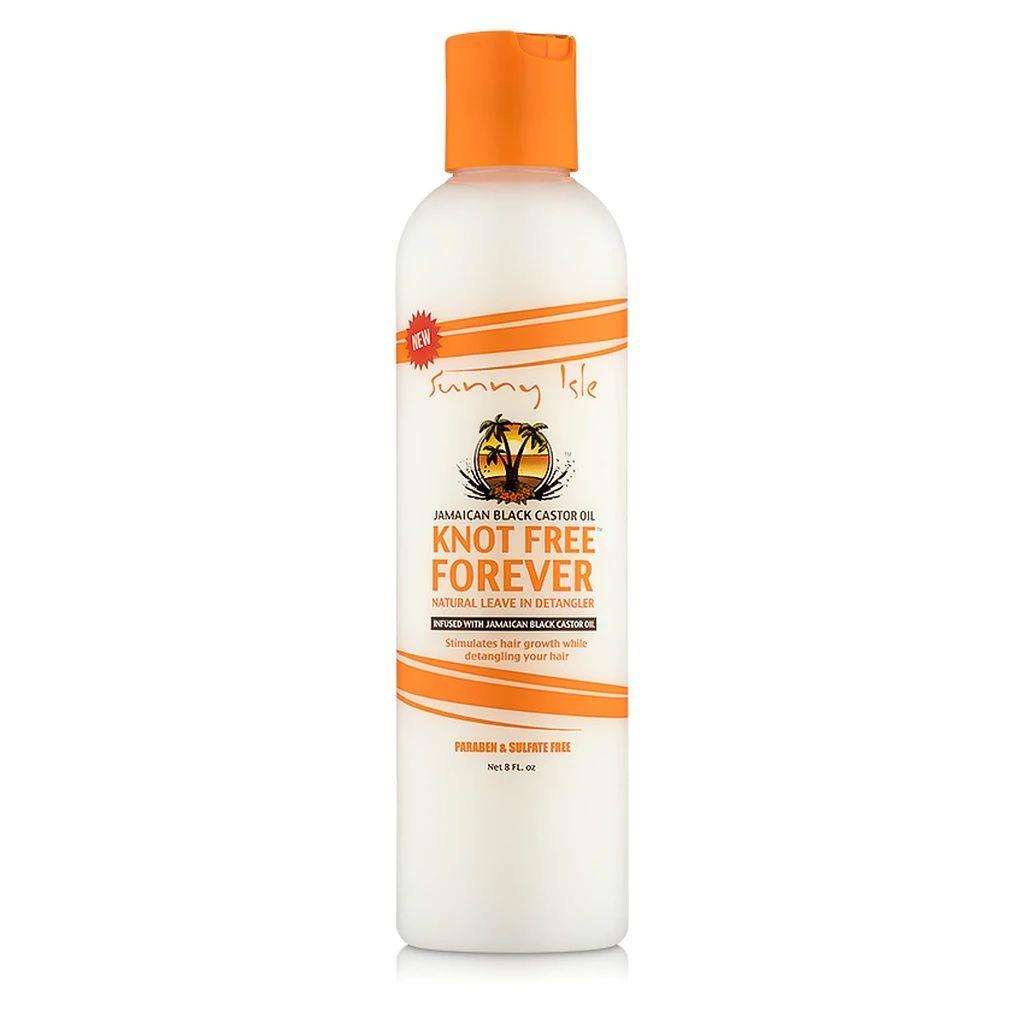 Sunny Isle Jamaican Black Castor Oil Knot Free Forever Natural Leave-In Detangler - 8oz