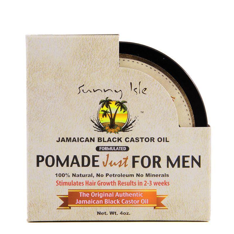 Sunny Isle Jamaican Black Castor Oil Pomade For Men - 4oz