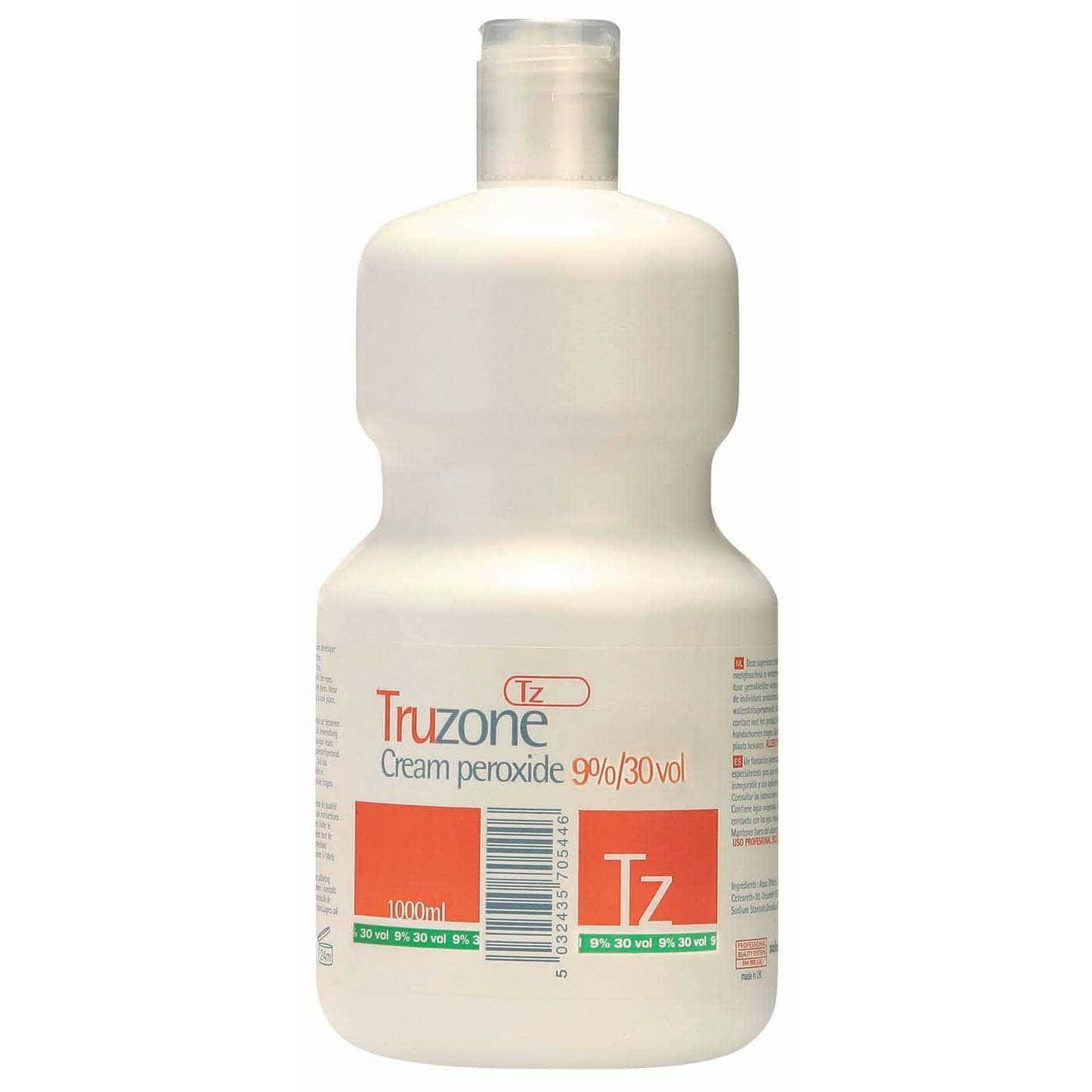 Truzone Cream Peroxide 9% 30 Vol - 1000ml