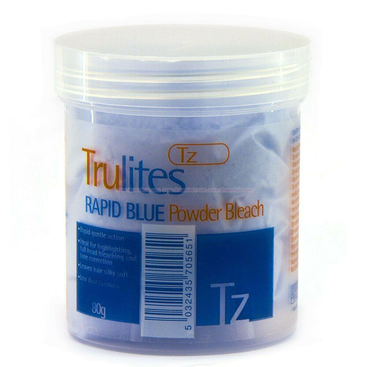 Truzone Trulites Rapid Blue Powder Bleach - 80g