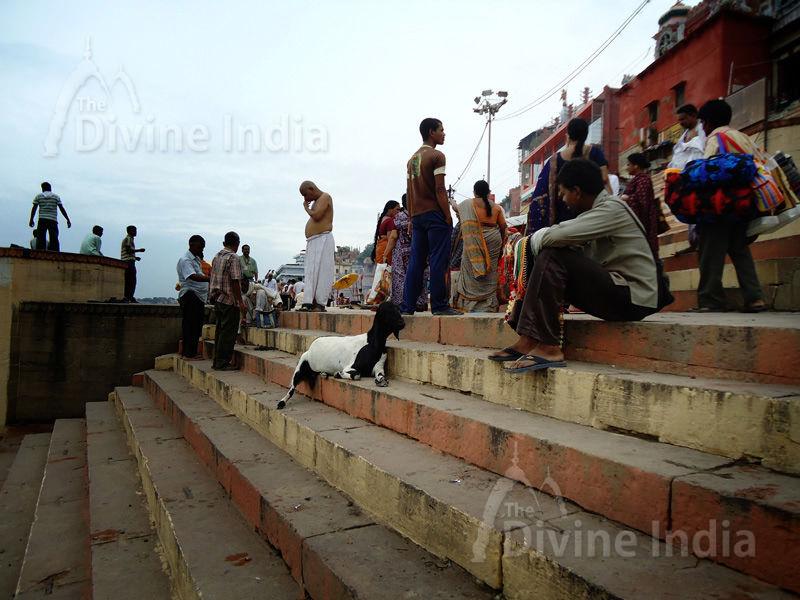 Other View Ganga Ghat - Varanasi