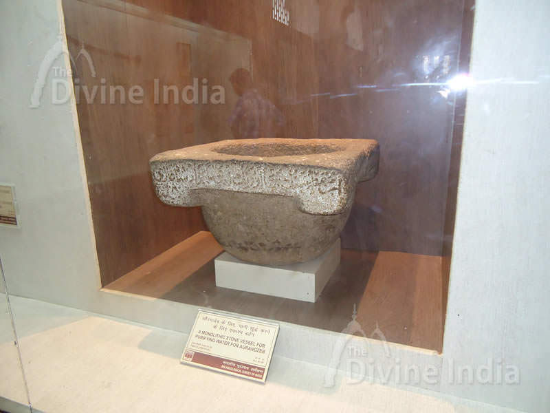 A Monolithic Stone Vessel for Purifying water for Aurangzeb