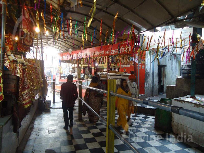 Entrance of Kalkaji Mandir (Temple)