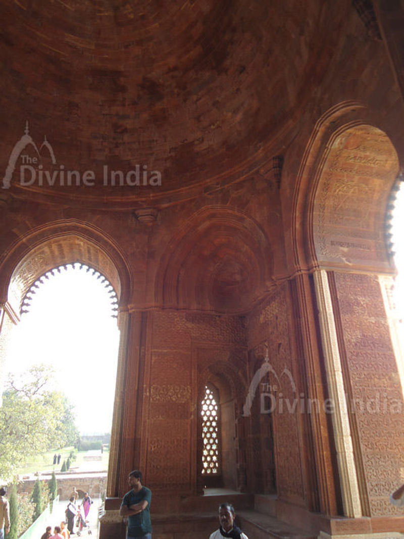Inside Tomb, Qutub Minar