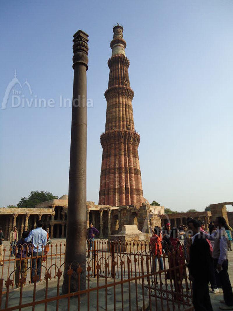 Iron Pillar and Qutub Minar