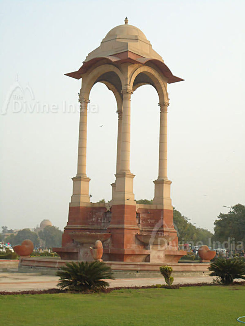 Canopy near India Gate