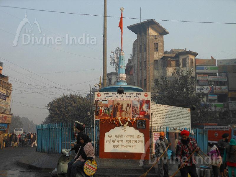 Near Sis Ganj Gurudwara