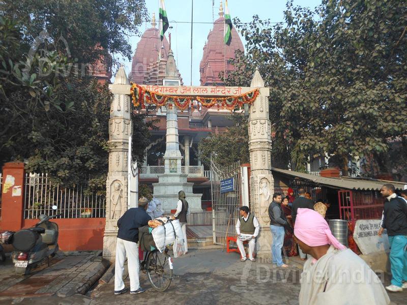 Entry Gate of Shri Digambar Jain Lal Mandir