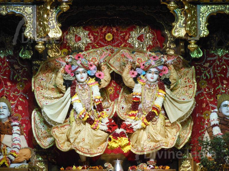 Sri Sri Radha Parthasarathi, ISKCON Temple. Janmastami