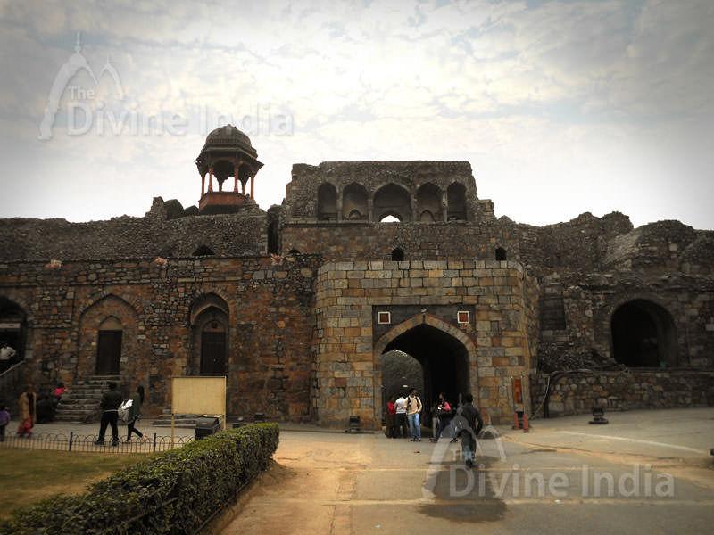 West Gate Bara Darwaza present main Entrance