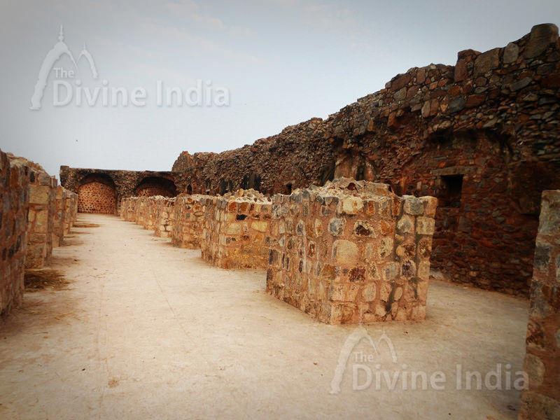 Wall of Purana Qila