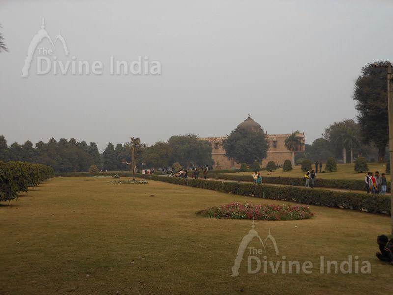 Garden at Purana Qila