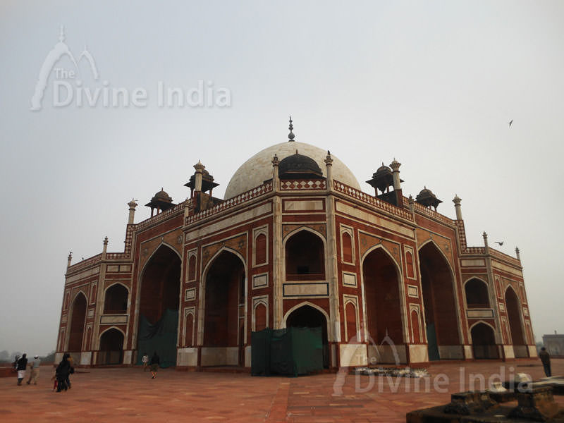 Other View of Humayun Tomb