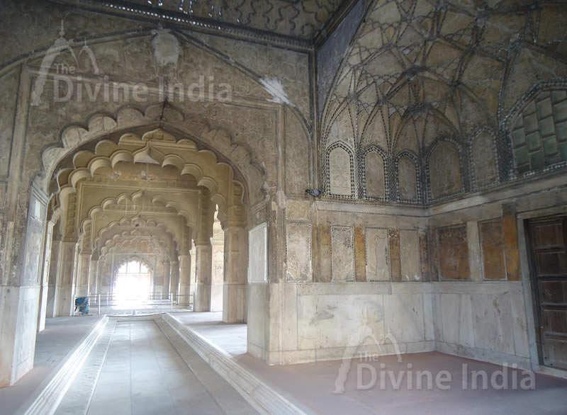 Rang Mahal, The Red Fort, Delhi