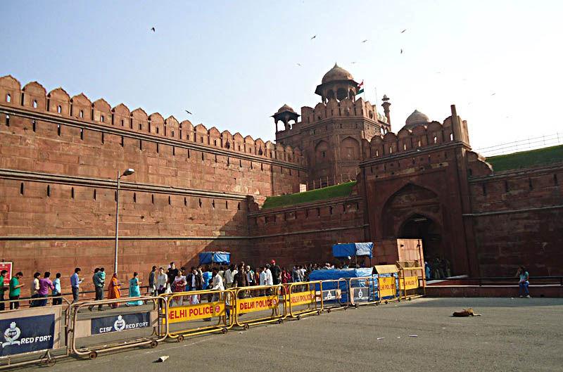Ancient Lahori Gate, Delhi