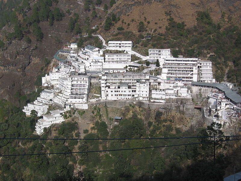panoramic view of vaishno devi