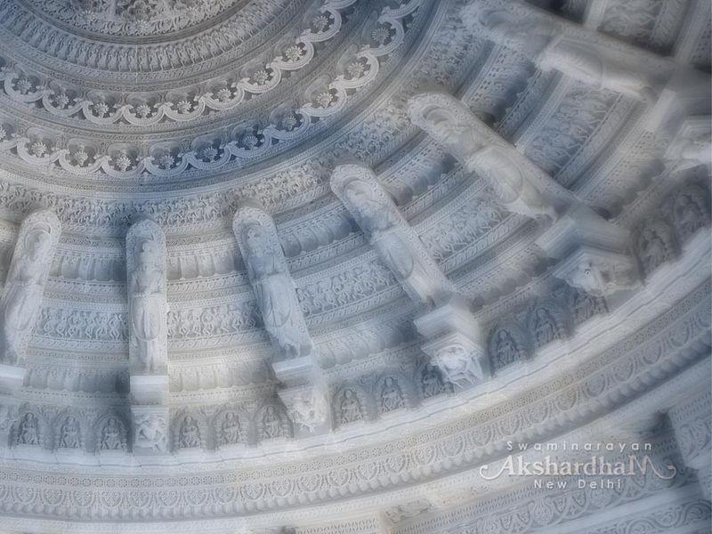 Beautiful Pietra Dura ,Akshardham Temple