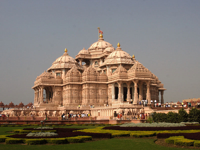 Other side view of Akshardham Temple