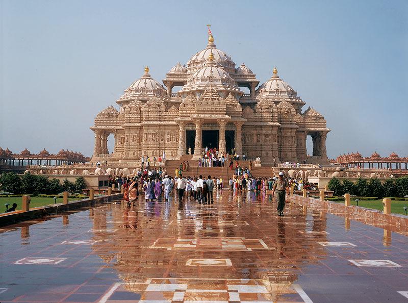 Rhythm In Architecture of the Akshardham Temple