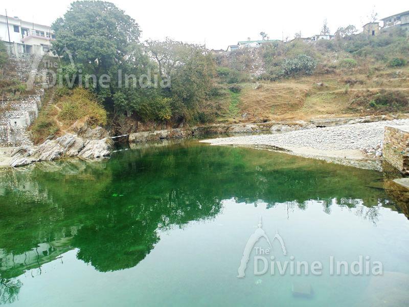 Lake at Baijnath Temple - Uttarakhand