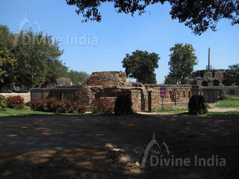 Baoli in Feroz Shah Kotla Fort