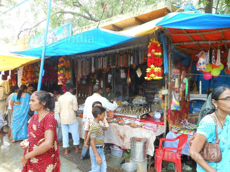 Market Place at Bateshwar Temple