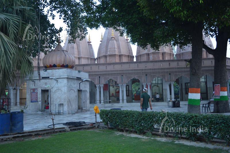 Beautiful architecture of devi temple complex