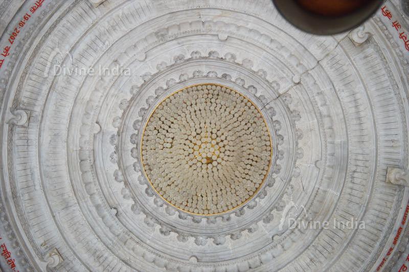 Beautiful Ceiling Design at Dudhewshar Nath Temple