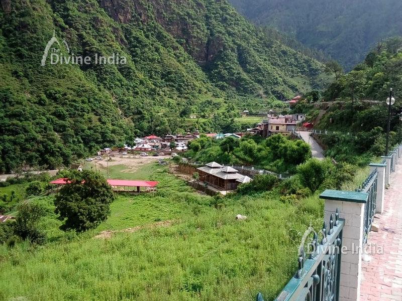 Beautiful Nature around the Mahasu Devta Temple