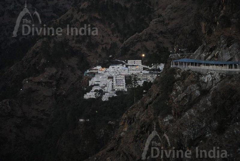 Beautifu view of vaishno devi