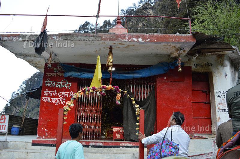 Bhairav Nath Temple at Bhairoghati way of Yamunotri Dham