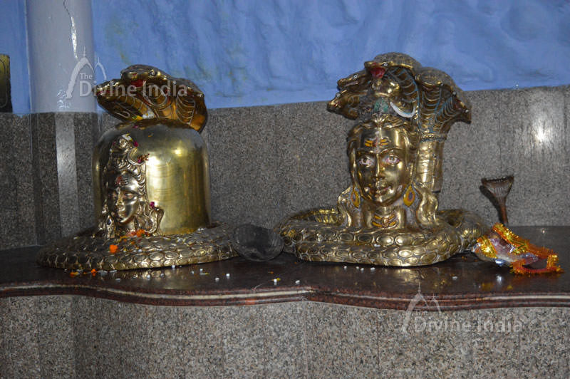 Cast Iron made Shivlinga idols at tapkeshwar temple