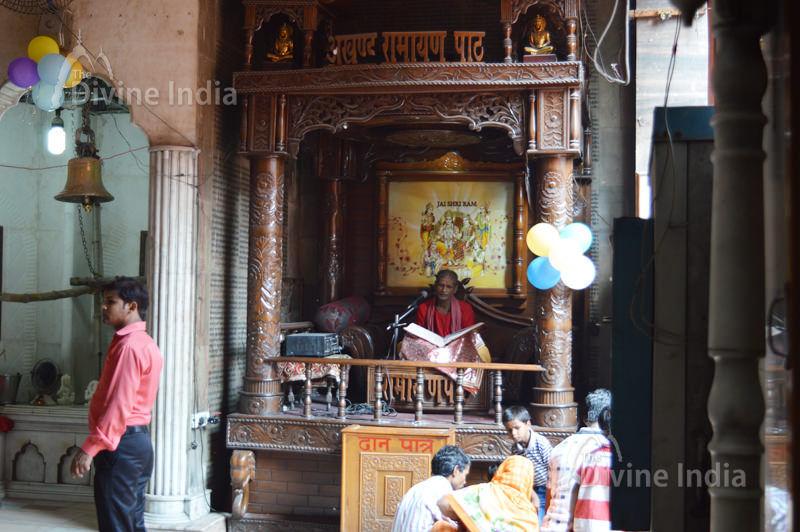 Chanting of akhand ramayan path at 108 Feet Hanuman Temple