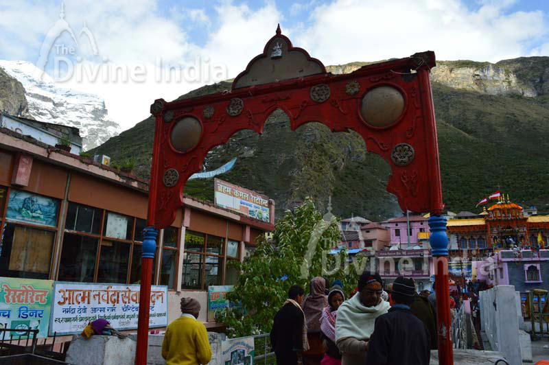 Entry Gate of Badrinath Temple